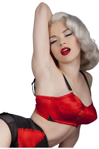 Bettie Page Bullet BH Red