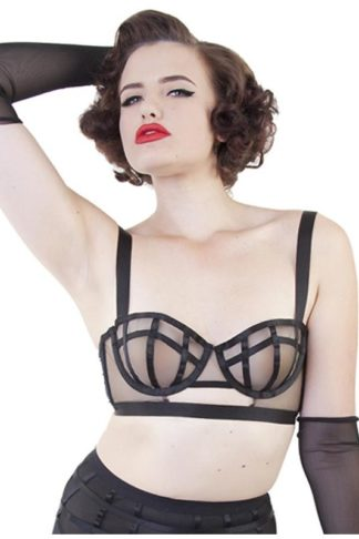 Bettie Page Cage Bra