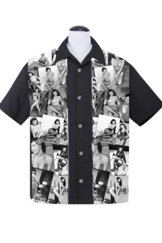 Bettie Page Collage Shirt