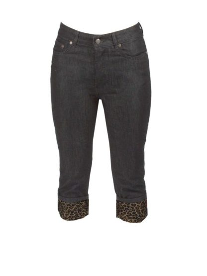 Black Capri Jeans