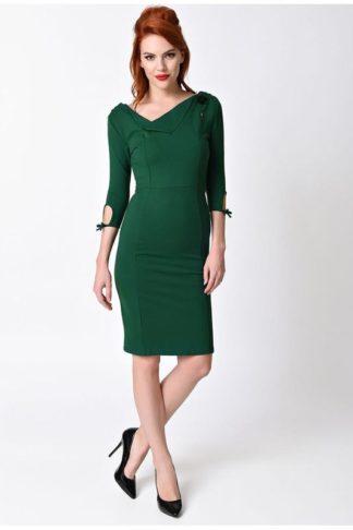 Carmen Wiggle Dress Grün