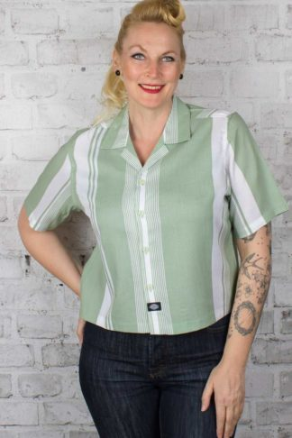 Dickies - Damen Cropped Shirt Senola von Rockabilly Rules