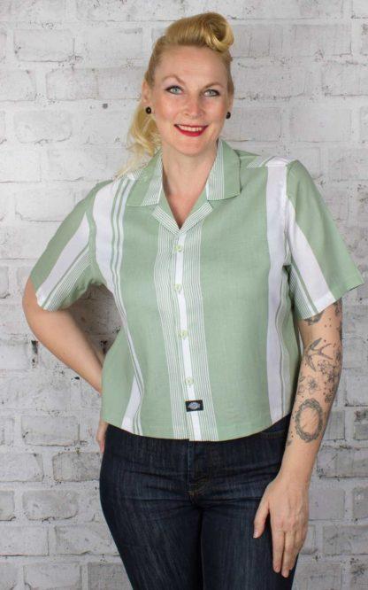 Dickies - Damen Cropped Shirt Senola von Rockabilly Rules