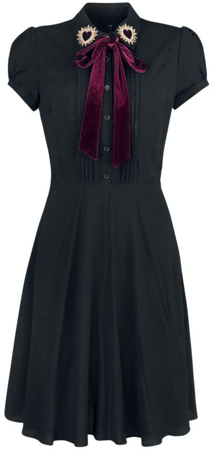 Hell Bunny Madonna Dress Kurzes Kleid schwarz