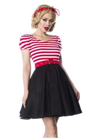 Jersey Kleid Rot