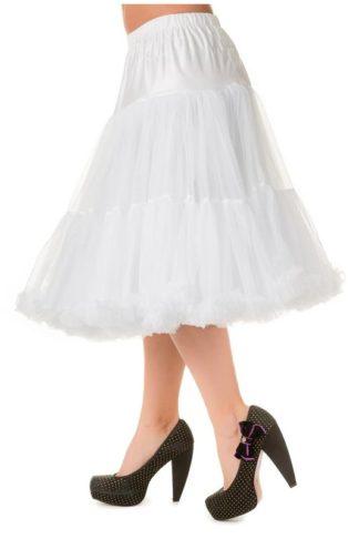 Langer Petticoat Weiss