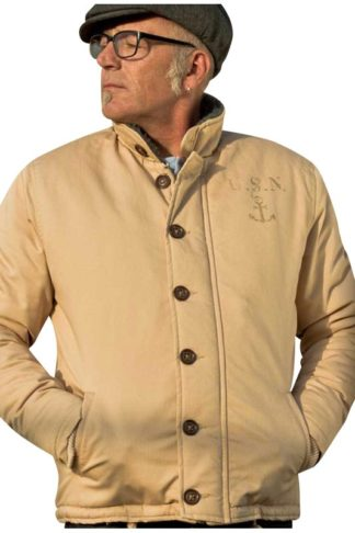 Rumble 59 Deck Jacket Beige