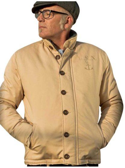 Rumble 59 Deck Jacket Beige