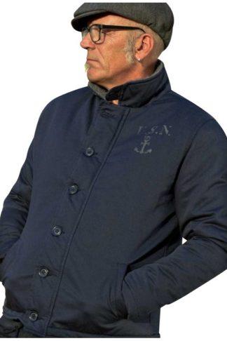 Rumble 59 Deck Jacket Navy