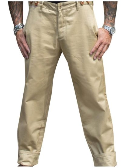 Selvage Chino Pants California