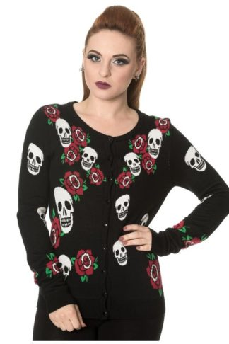 Skulls Rose Knit Jumper