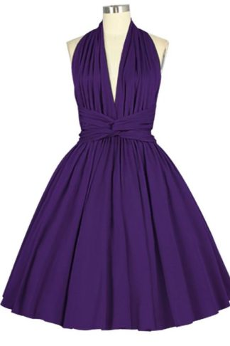Sleeveless Dress Purple