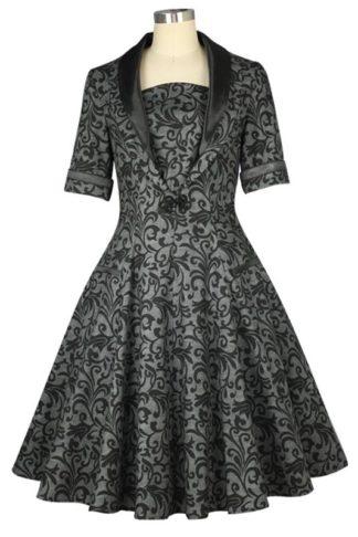 Vintage Brokat Kleid