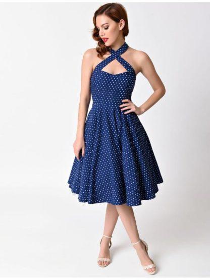 Vintage Rita Royal Blue