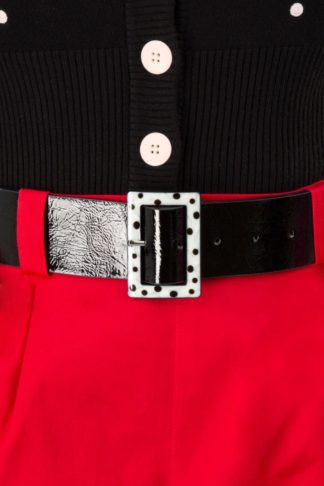 50s Chenelle Belt in Black