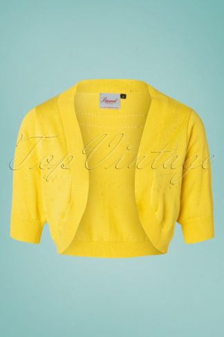 50s You Are My Sunshine Bolero in Yellow