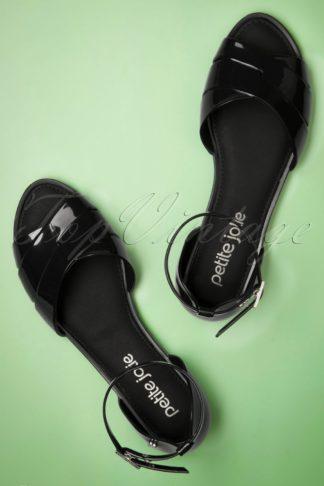 60s Blair Sandal in Black
