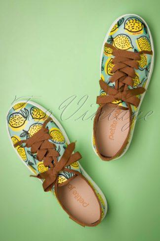 60s Lupita Lemonade Sneakers in Mint