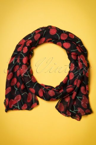 60s So Very Cherry Scarf