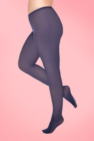 Curvy Super Stretch Tights in Navy