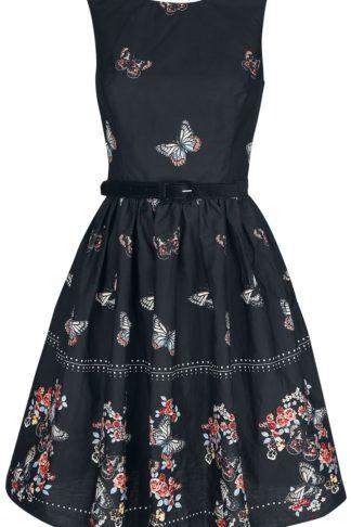 Hell Bunny Laeticia Mid Dress Mittellanges Kleid schwarz