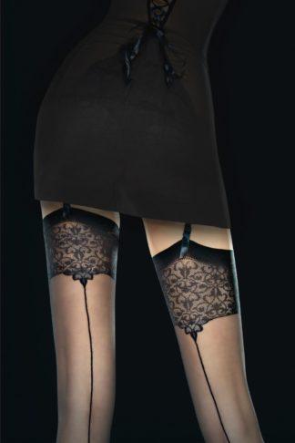 Vesper Seamed Stockings in Black