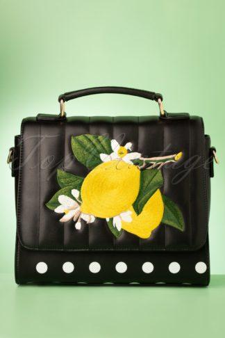 50s Limonata Handbag in Black