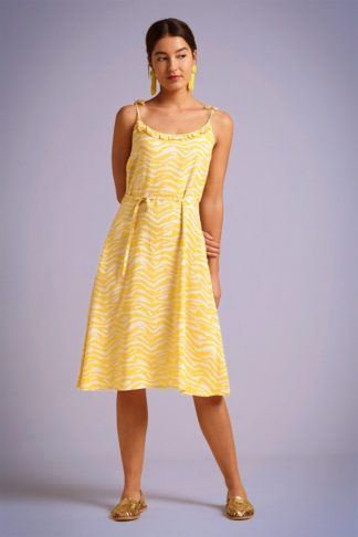 70s Viola Chapman Dress in Mimosa Yellow