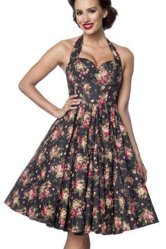 Belsira Corsetdress Mittellanges Kleid schwarz