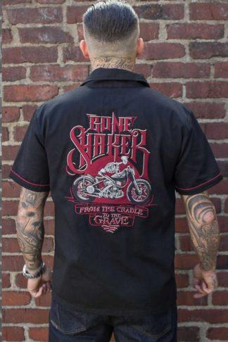 Rumble59 - Worker Shirt - Bone Shaker von Rockabilly Rules