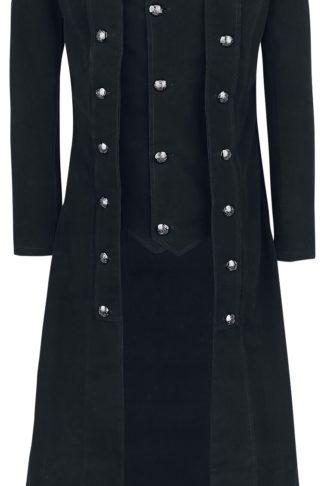Vixxsin Walker Coat Wintermantel schwarz