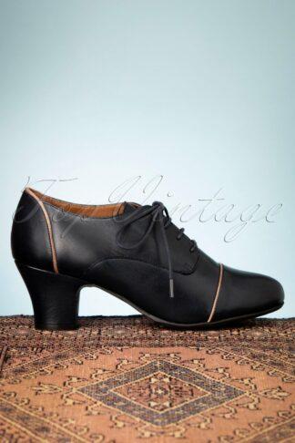 40s Felice Shoe Booties in Denim