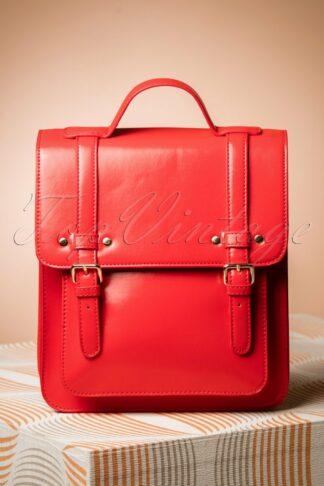60s Cohen Handbag in Radiant Red