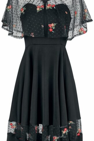 Belsira Dress with Bolero Mittellanges Kleid schwarz
