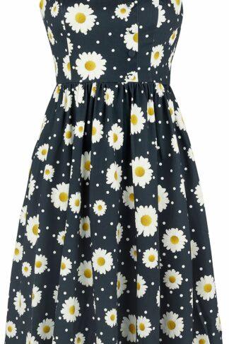H&R London Kaliel Dress Mittellanges Kleid dunkelblau