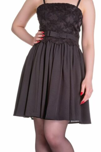 Hell Bunny Marvelette Dress Mittellanges Kleid schwarz