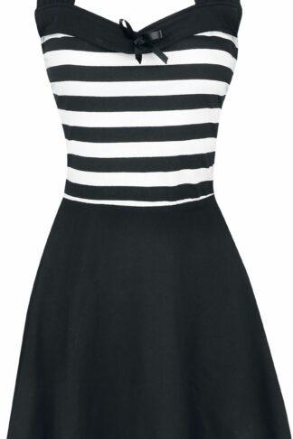 Rockabella South Dress Kurzes Kleid schwarz/weiß