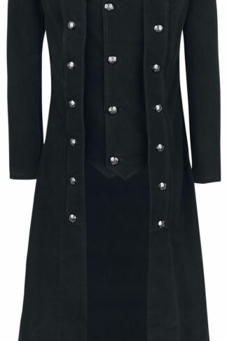 Vixxsin Walker Coat Wintermantel schwarz