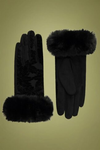 50s Bailey Gloves in Black