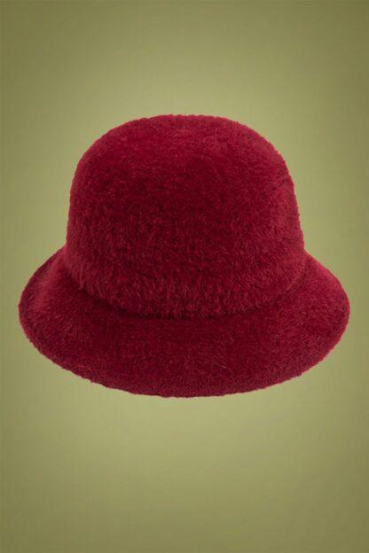 50s Elliot Bucket Hat in Red