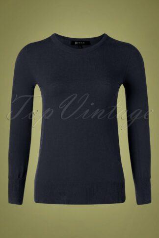 50s Kelly Sweater in Navy