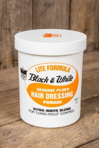 Black & White Hair Dressing Pomade - Light von Rockabilly Rules