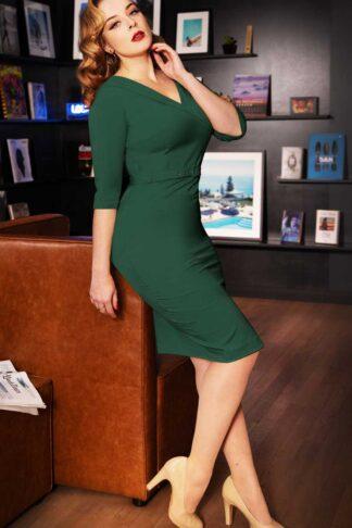 Glamour Bunny - Aviva Pencil Skirt Kleid von Rockabilly Rules