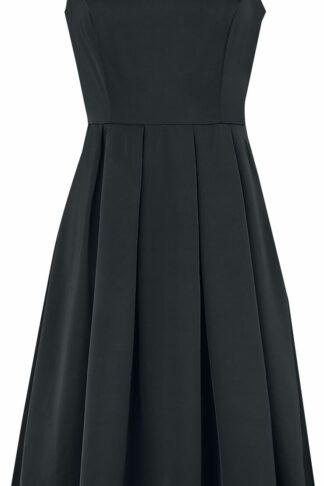 H&R London Ariella Dress Mittellanges Kleid schwarz