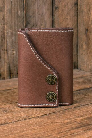 """Rumble59 - Leder Wallet """"Tripartite""""- compact size von Rockabilly Rules"""