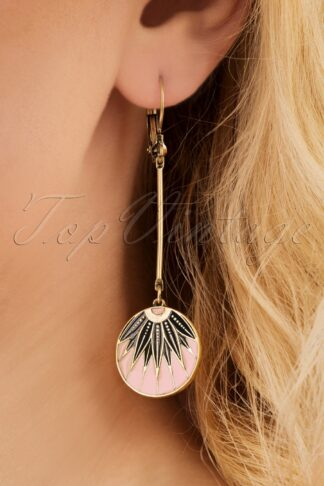 20s Emma Leaf Drop Earrings