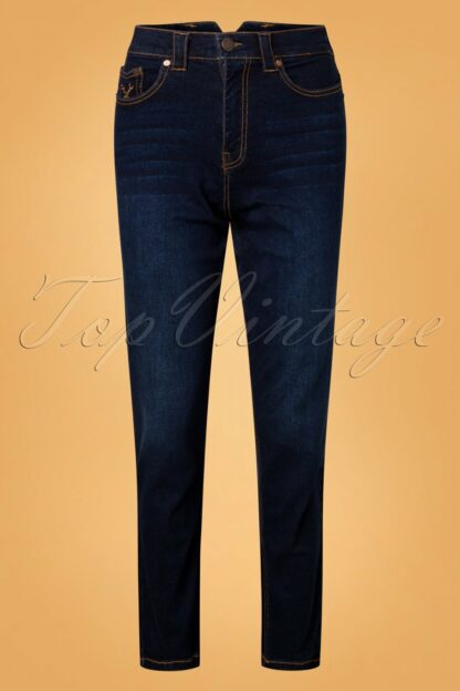 50s Melly Jeans in Blue