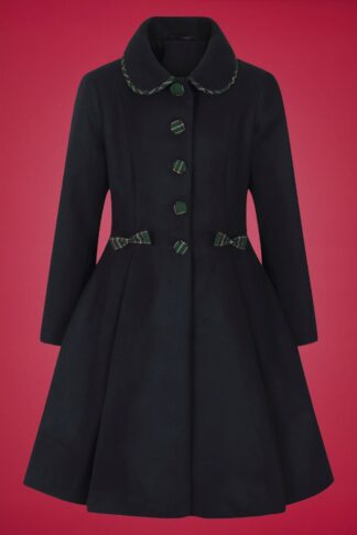 50s Tiddlywinks Coat in Navy