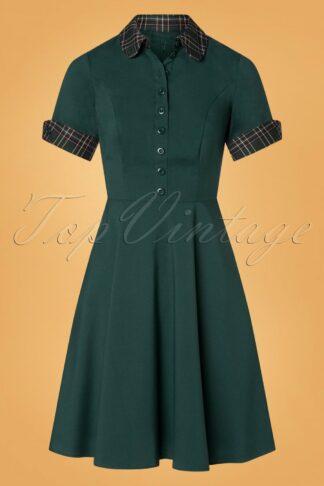 50s Tiddlywinks Dress in Green