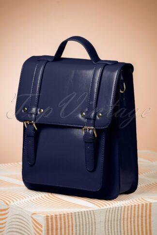 60s Cohen Handbag in Midnight Blue